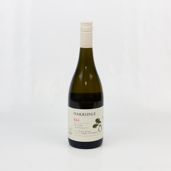 Oakridge 864 Chardonnay 2011 Single Block